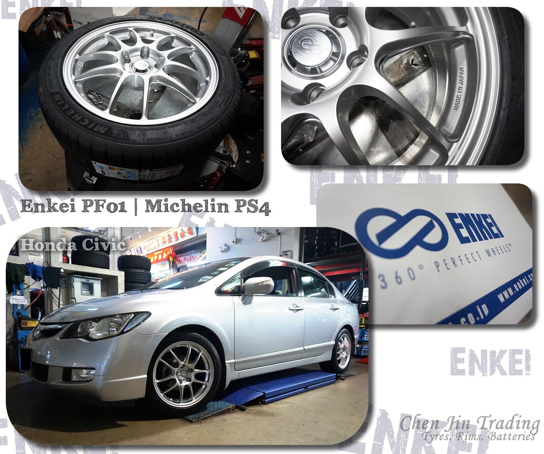 PF01 Civic Silver