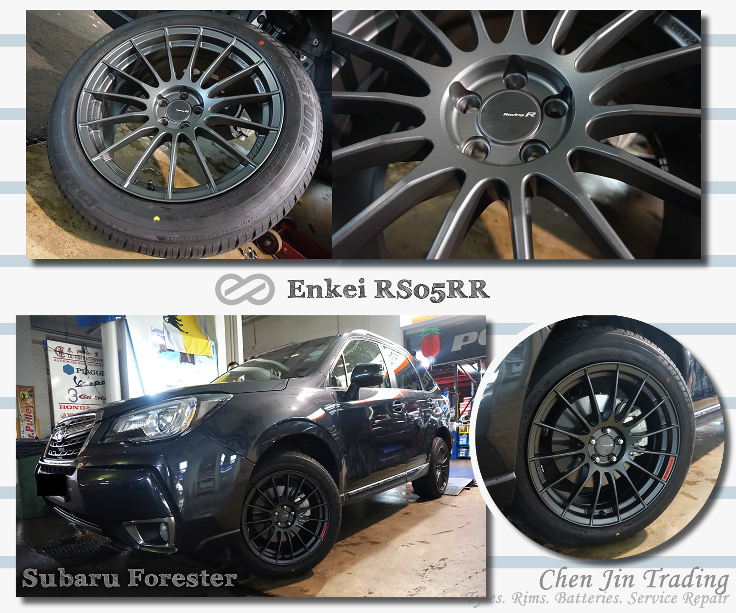 RS05RR Forester Grey