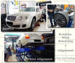 Bentley White Align