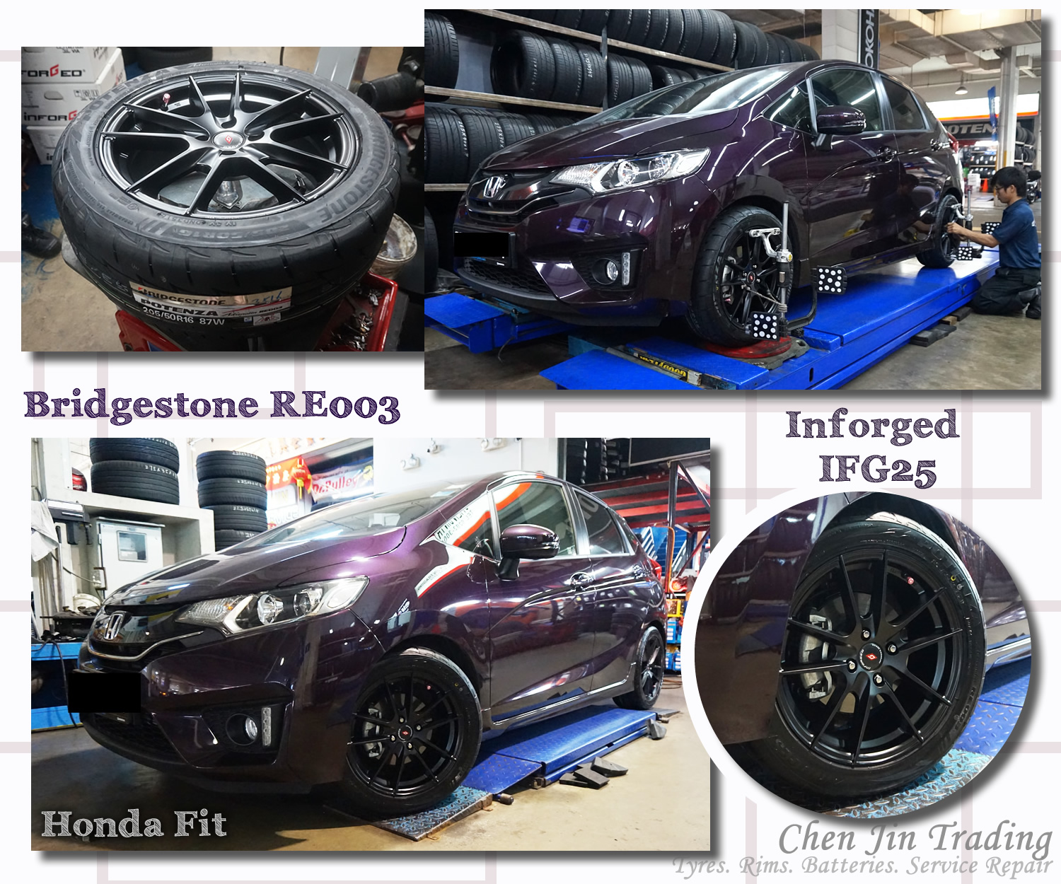 IFG25 Fit Purple