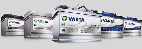 Varta Car Battery, AGM, Maintenance Free, Start Stop