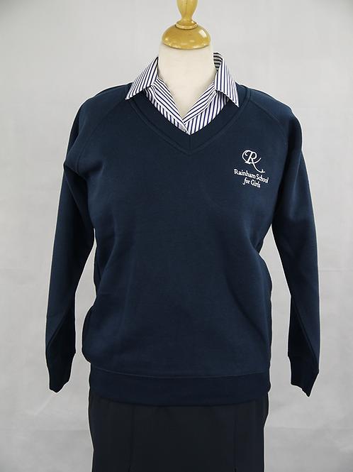 RSG Navy 'V' Sweatshirt