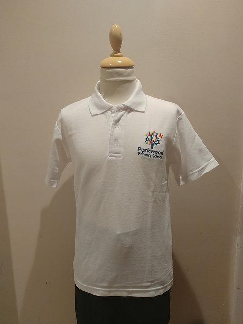 PS White Polo Shirt