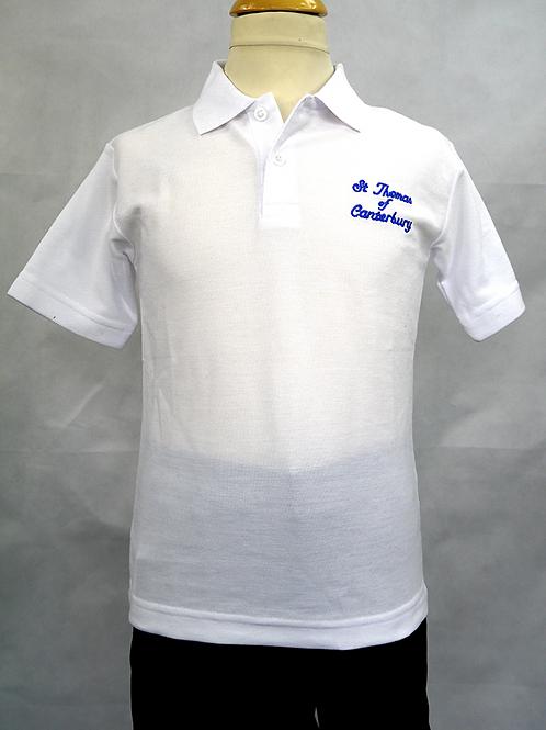 SToC White Polo Shirt