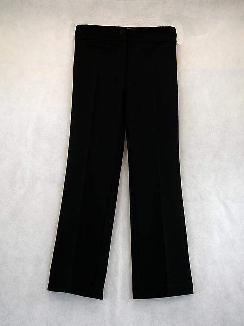 RM Junior Girls Black Straight Trousers