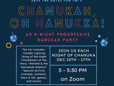 Chanukah, Oh Hanukka!!