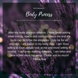 Body Process tanya