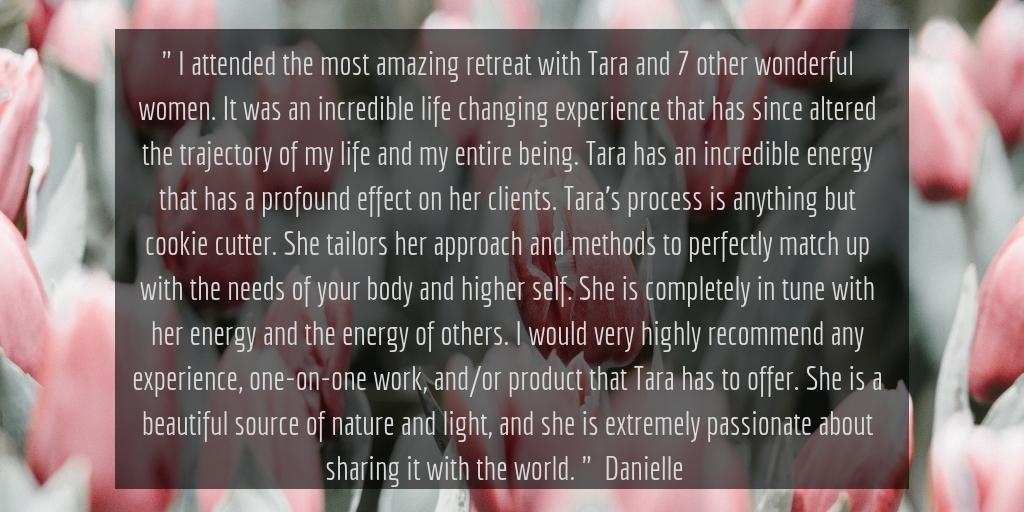 Danielle Testimonial