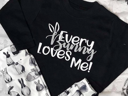 EVERY BUNNY LOVES ME DESIGN