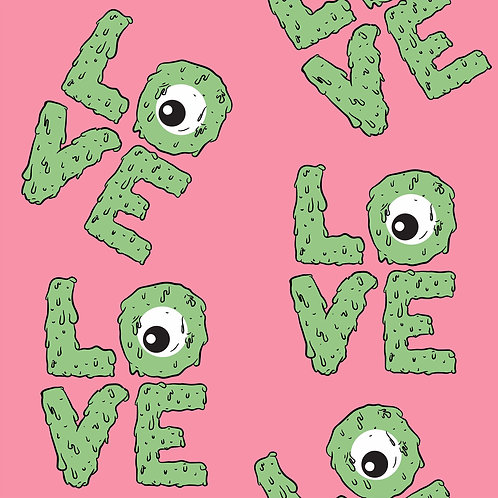 MONSTER LOVE PRINT