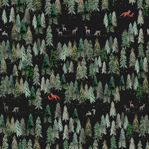 FOREST FOXES PRINT