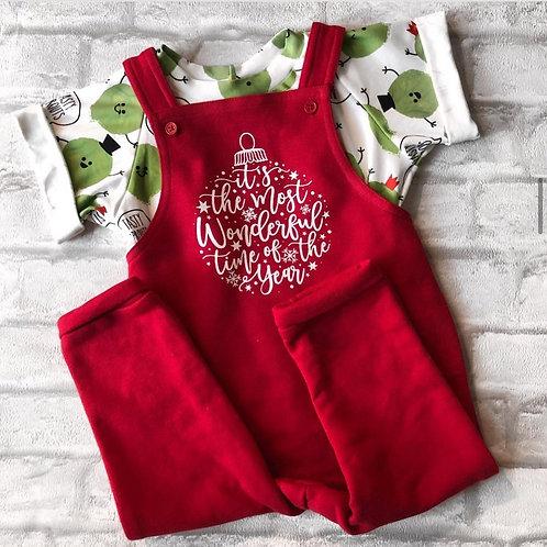 PRINTED CHRISTMAS DUNGS & DRESSES