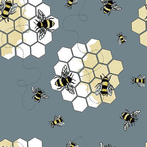 BUZZING BEES PRINT