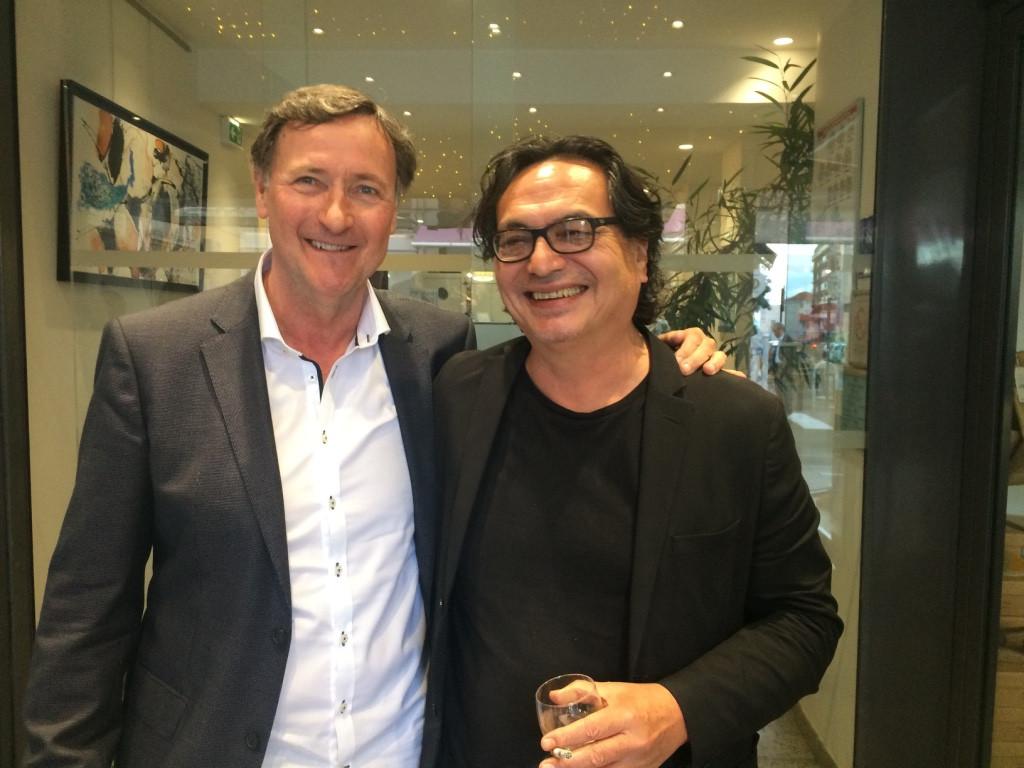 BackBone Cannes Screening Christian Pouligo (festival director)