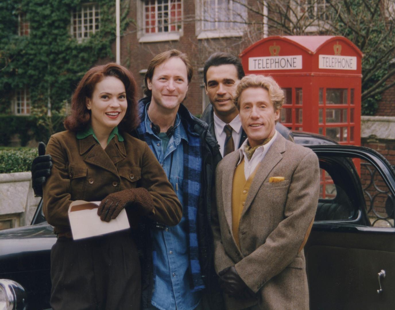 HL Elizabeth Gracen, Adrian Paul, Roger