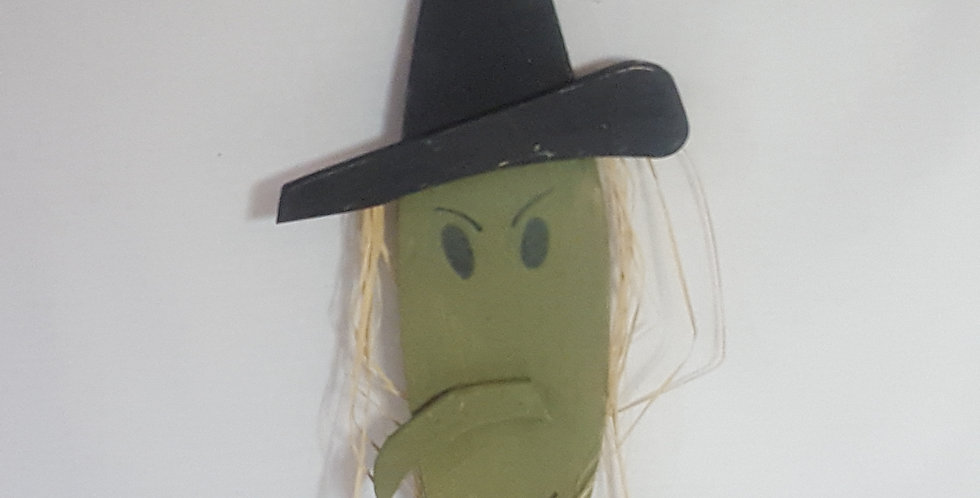 Wall Hanging Witch Head