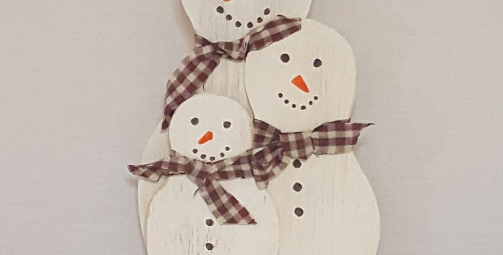 Shelf Sitter Snowman Family