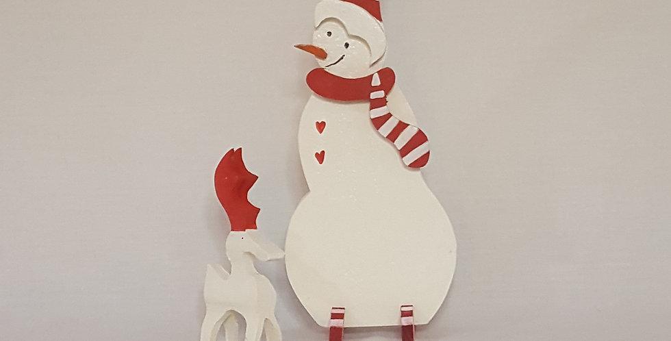 Snowman Reindeer Shelf Sitter