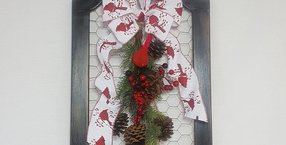 Frame Christmas Floral