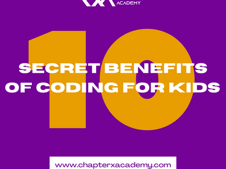 10 secret benefits your child gains when learning how to code.