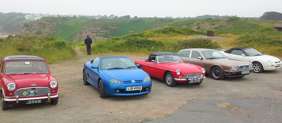 Yeovil Car Club Jersey Tour