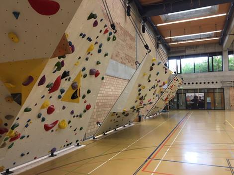 Boulderwand Uni Irchel