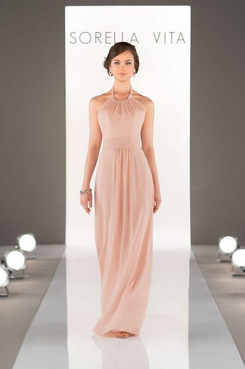 8648 Blush size 14 Bridesmaid dress