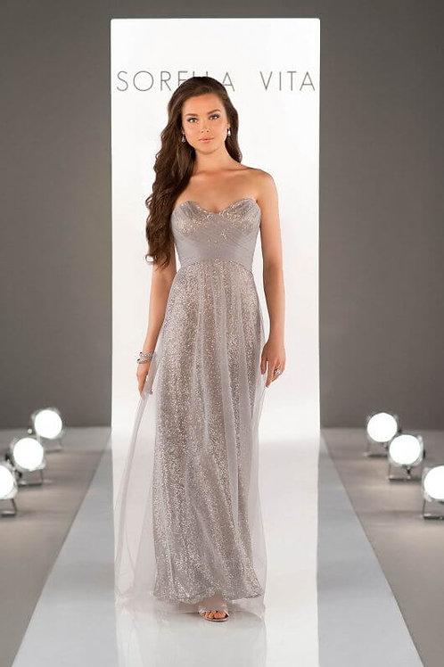 8684 Platinum size 14 Bridesmaid