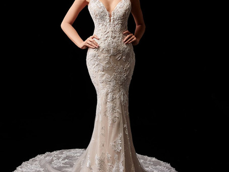 This months Featured Wedding Dress Paige by Enzoani