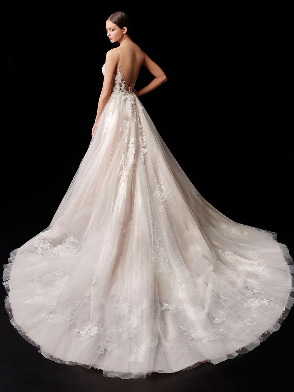 Enzoani Wedding Dress Paige with overskirt