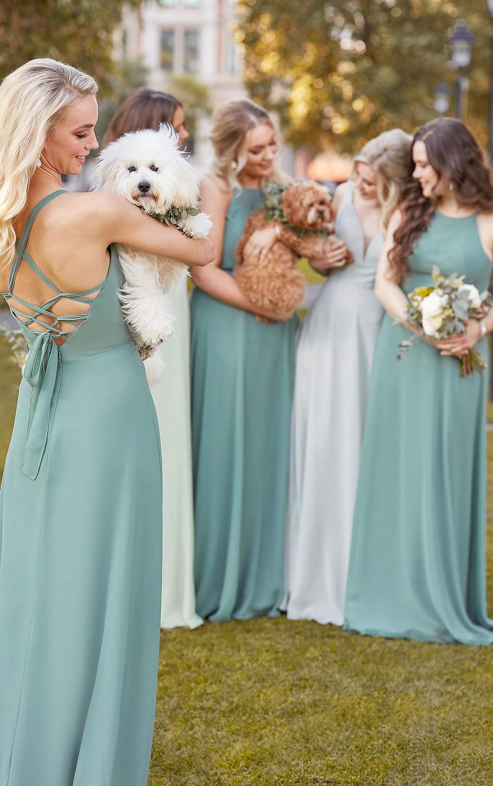 Green Bridesmaid Dresses Sheffield
