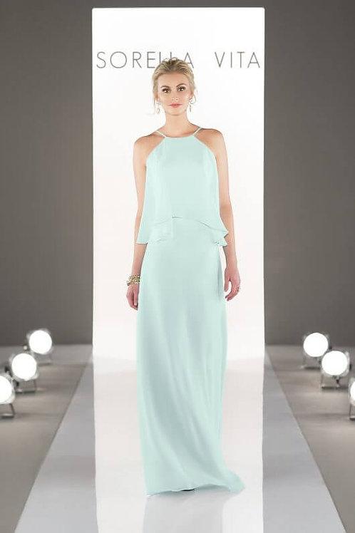 8736 size 10 Mint Sorella VitaBridesmaid Dress