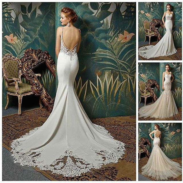 #backlessweddingdress #enzoani
