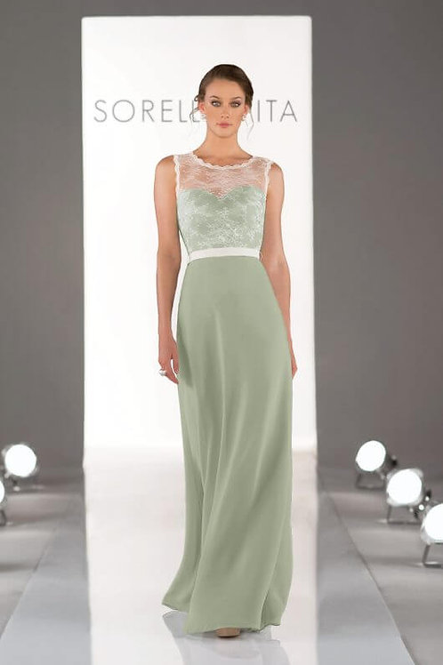 8311 size 16 Sage and Ivory