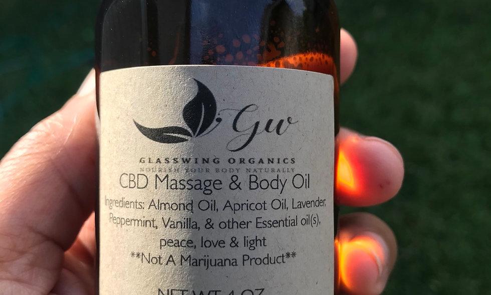 CBD Massage & Body Oil