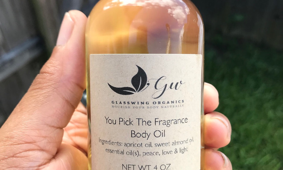 All Natural Body Oil (you pick the fragrance)
