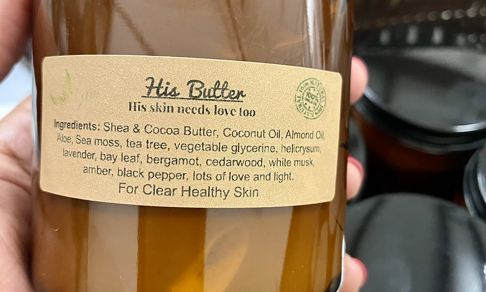 His Butter