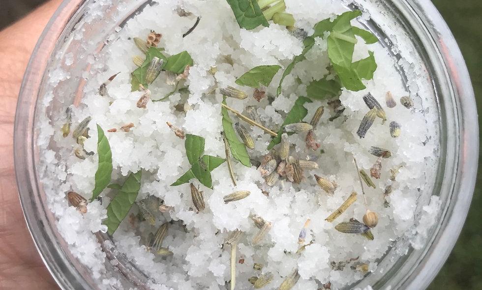 Lavender & Mint Sea Salt Scrub