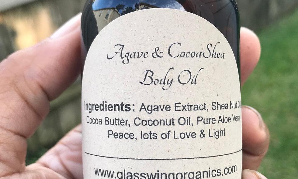 Agave & CocoaShea Body Oil