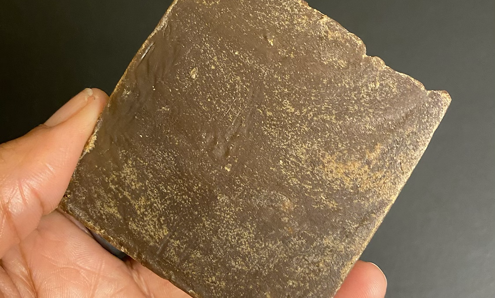 Authentic Pure Pine Tar Soap Bar
