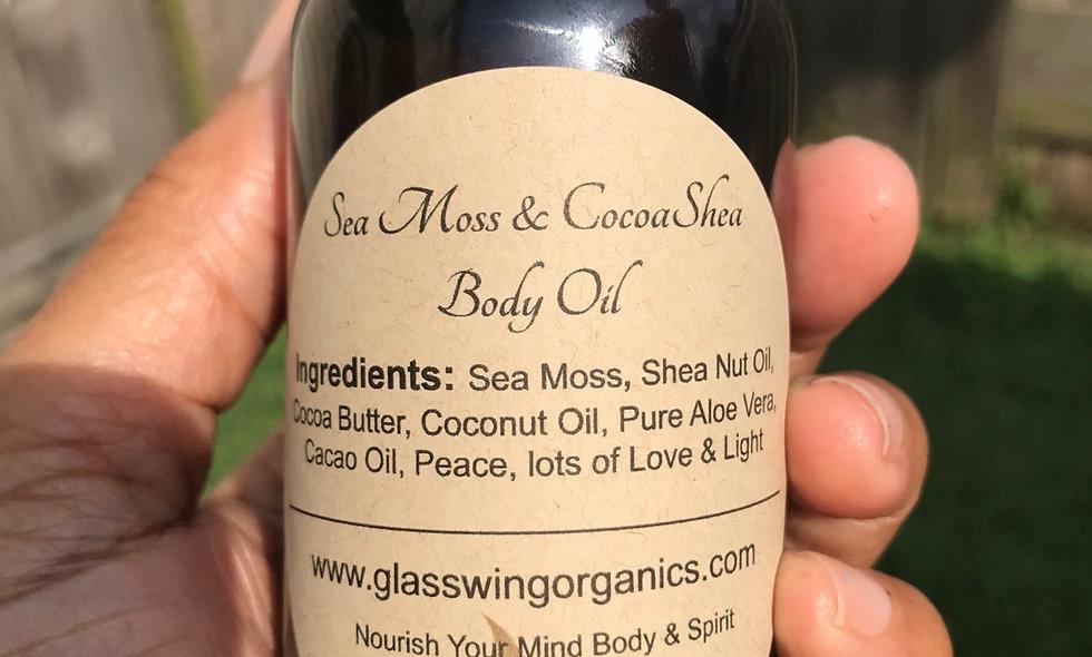 Sea Moss & CocoaShea Body Oil