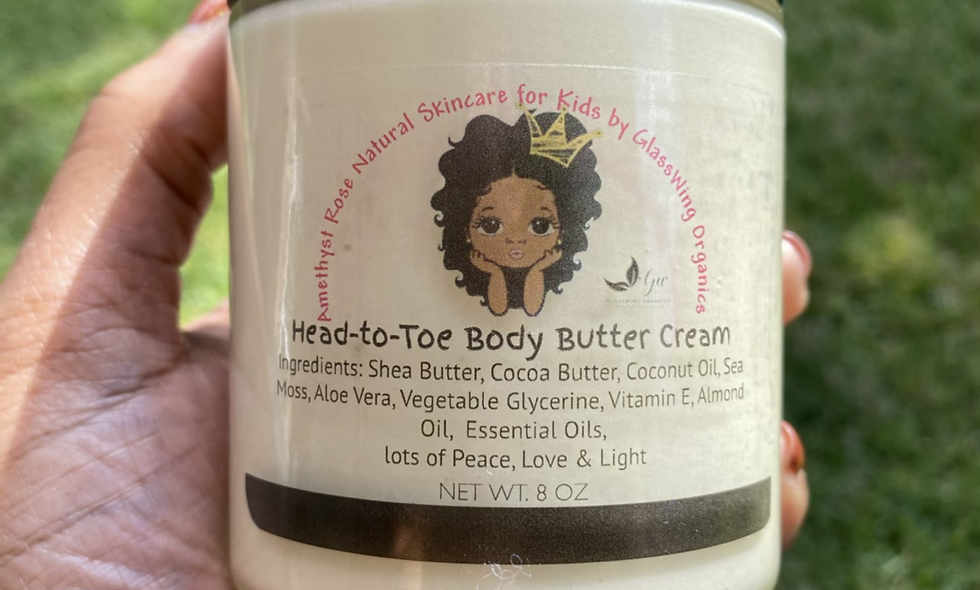 Head-to-Toe Butter Cream for Kids 8oz