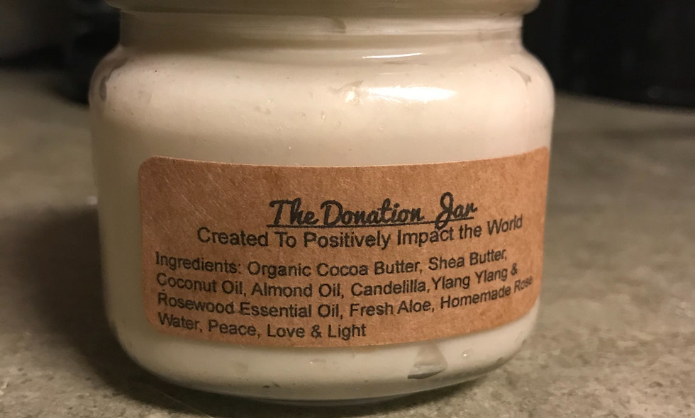 The Donation Jar Body Butter 8oz