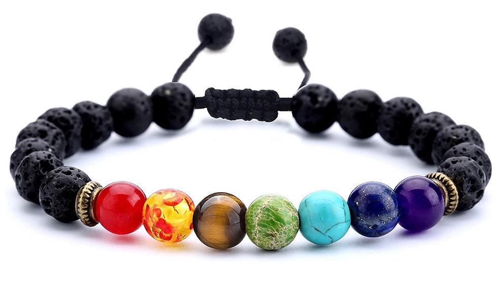 7 Chakra Crystal | Bracelet