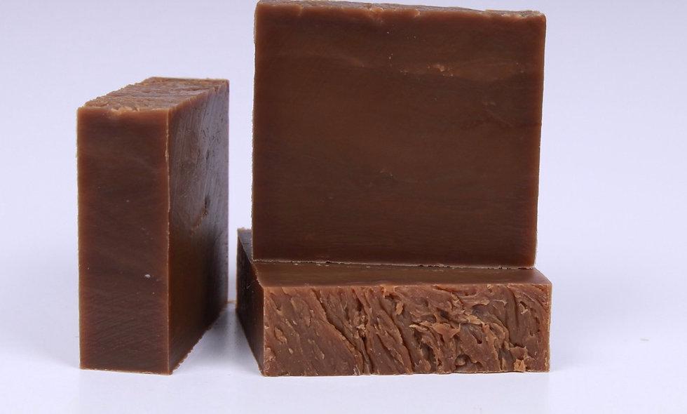Hot CocoaShea and Peppermint Soap Bar