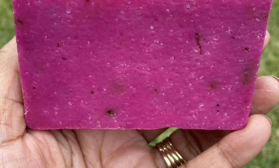 Rose High Vibes | Exfoliating Soap Bar