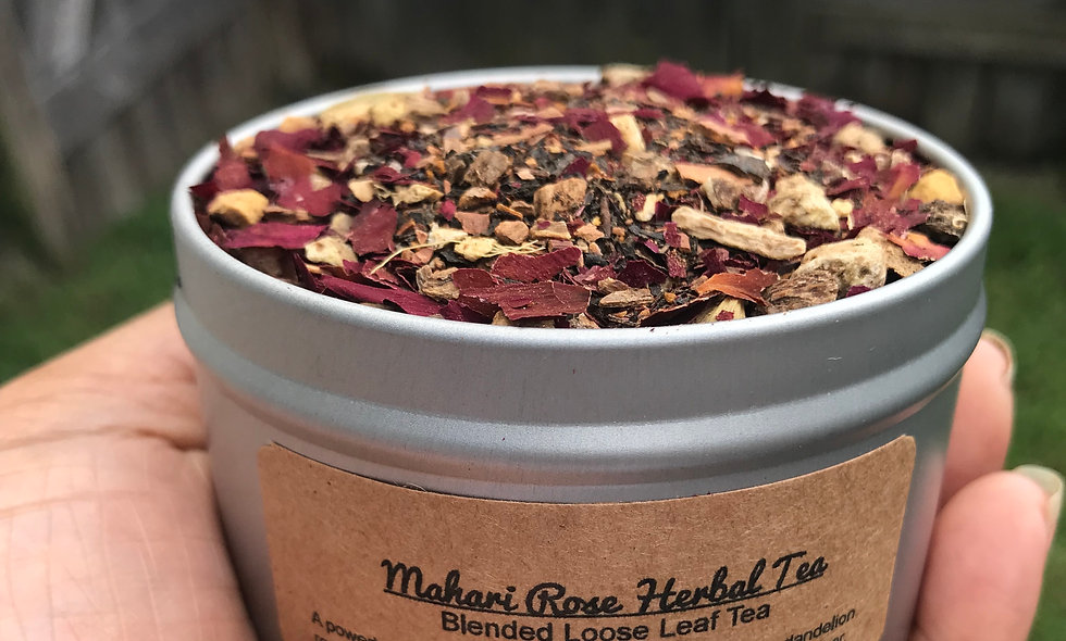 Mahari Rose Chai Herbal Tea