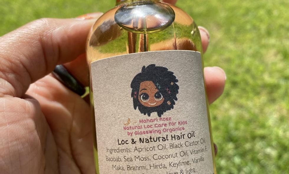 Loc & Natural Hair Oil for Kids 4oz