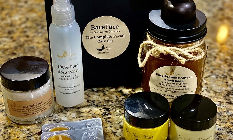 BareFace Complete Facial Care Set