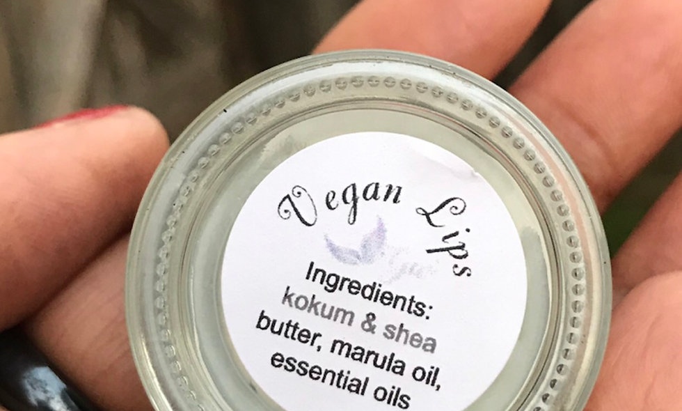 Vegan Lips Moisturizing Lip Balm